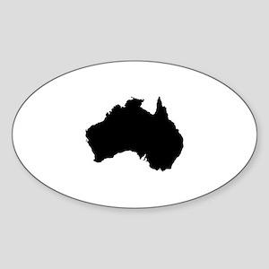 Australian Map Sticker