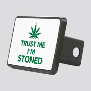 Trust me I'm stoned mariju Rectangular Hitch Cover