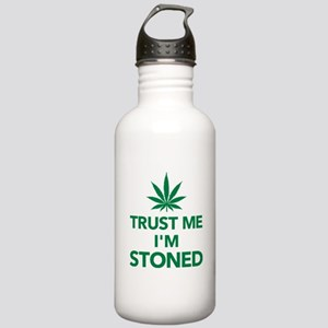 Trust me I'm stoned ma Stainless Water Bottle 1.0L
