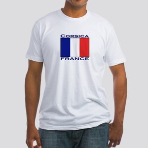 Corsica, France Fitted T-Shirt