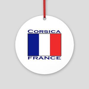 Corsica, France Ornament (Round)