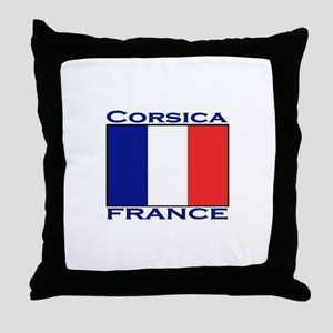 Corsica, France Throw Pillow