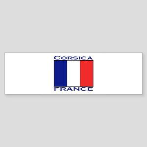 Corsica, France Bumper Sticker