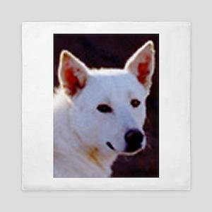 canaan dog Queen Duvet