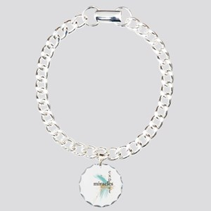 Expect Miracles Charm Bracelet, One Charm