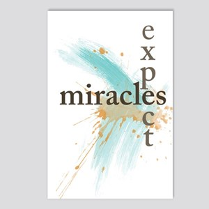 Expect Miracles Postcards (Package Of 8) Postcards