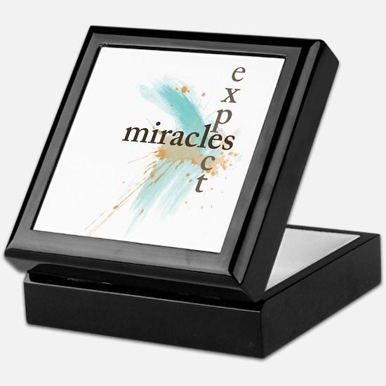 Expect Miracles Keepsake Box