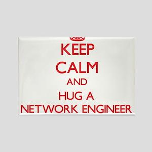 Keep Calm and Hug a Network Engineer Magnets