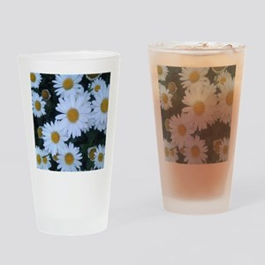 Darling Daisies Drinking Glass