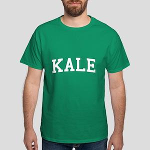 Kale University Funny Vegetarian Dark T-Shirt