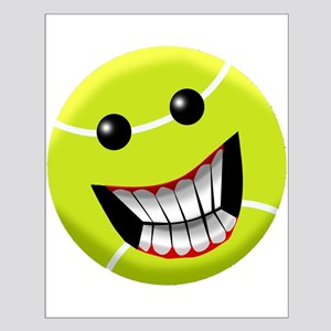 HAPPY FACE TENNIS BALL Posters