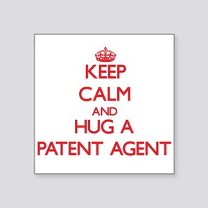 Keep Calm and Hug a Patent Agent Sticker