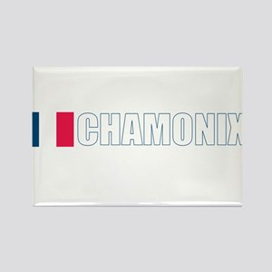 Chamonix, France Rectangle Magnet