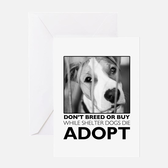 Adopt Puppy Greeting Cards