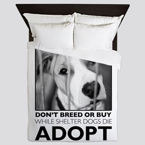 Adopt Puppy Queen Duvet