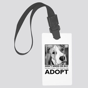 Adopt Puppy Luggage Tag
