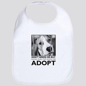 Adopt Puppy Bib