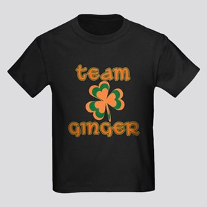 TEAM GINGER Kids Dark T-Shirt