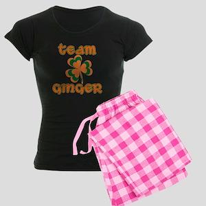 TEAM GINGER Women's Dark Pajamas