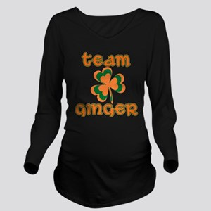 TEAM GINGER Long Sleeve Maternity T-Shirt