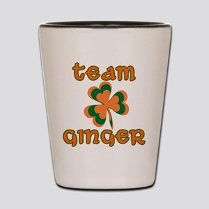 TEAM GINGER Shot Glass