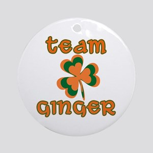 TEAM GINGER Ornament (Round)
