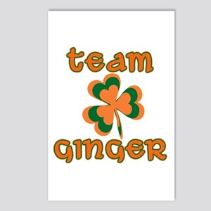 TEAM GINGER Postcards (Package of 8)