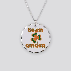 TEAM GINGER Necklace Circle Charm