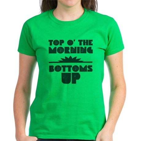 Top O' The Morning - Bottoms Women's Dark T-Shirt