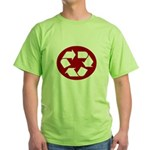 CHEAP RECYLE SHIRT AMAZING RA Green T-Shirt