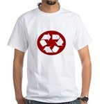 CHEAP RECYLE SHIRT AMAZING RA White T-Shirt