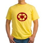 CHEAP RECYLE SHIRT AMAZING RA Yellow T-Shirt