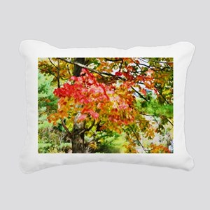 3 Colors Of The Nature 3 Rectangular Canvas Pillow