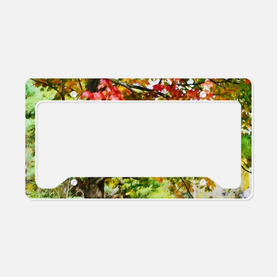 3 Colors Of The Nature 3 License Plate Holder