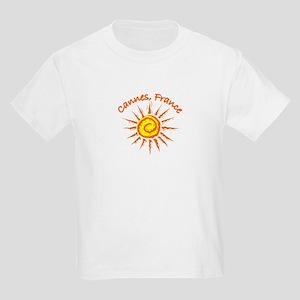 Cannes, France Kids Light T-Shirt