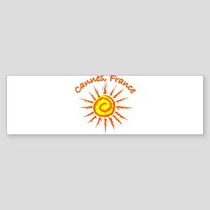 Cannes, France Bumper Sticker