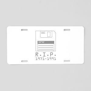 R.I.P. 1971-1991 Aluminum License Plate