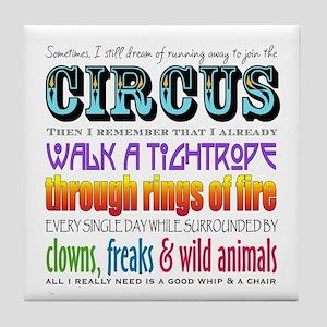 Circus Tile Coaster