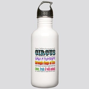 Circus Water Bottle