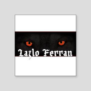 Lazlo Ferran Wolf Eyes Sticker
