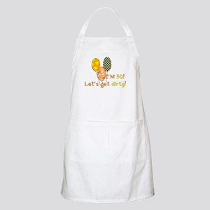 30th Birthday BBQ Apron