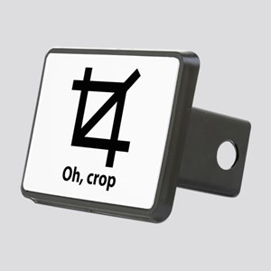 Oh, crop Rectangular Hitch Cover