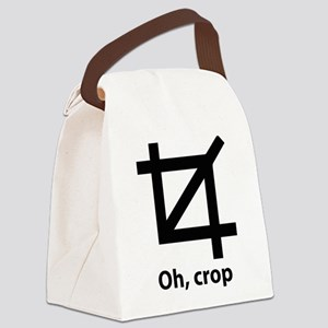 Oh, crop Canvas Lunch Bag
