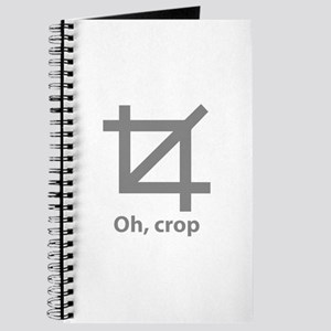 Oh, crop Journal