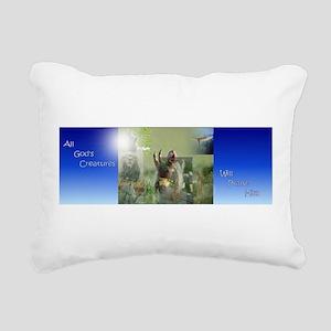 Praise Rectangular Canvas Pillow