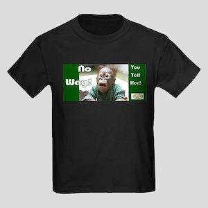 No Way! Kids Dark T-Shirt
