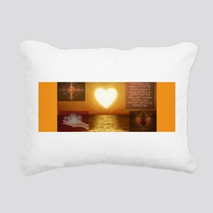 Hearts Women Rectangular Canvas Pillow