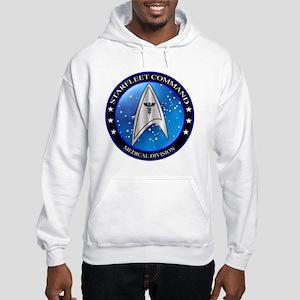 Starfleet Command Medical Divisi Hooded Sweatshirt