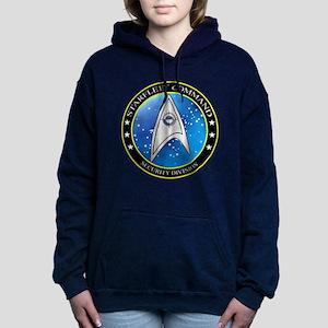 Starfleet Command Security Divis Hooded Sweatshirt
