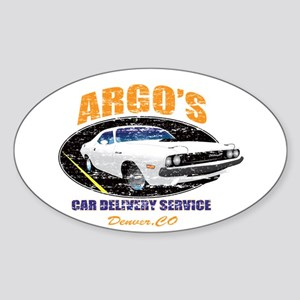 Argo's Car Delivery Sticker
